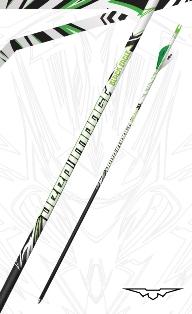 Black Eagle Arrows Deep Impact Crested Fletched Arrows
