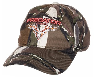 Predator Camo Poly Logo Hat