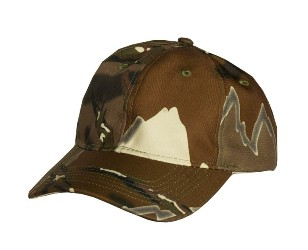 Predator Camo Regular Brim Poly Hat