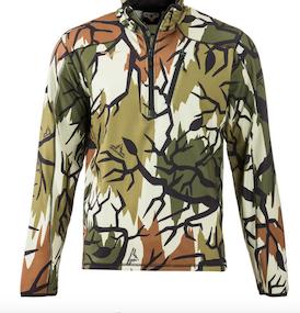 Performance fleece  1/4 Zip Shirt