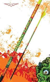 Black Eagle Arrows Zombie Slayer Crested Arrows