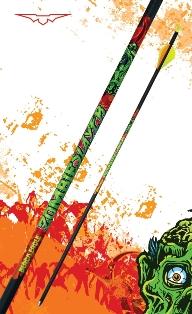 Black Eagle Zombie Slayer Fletched Arrows