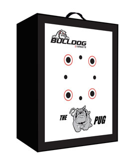 Bulldog- PUG Archery Target