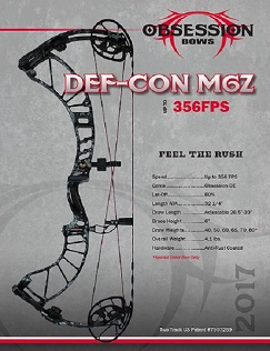 Obsession Bow Def-Con M6Z